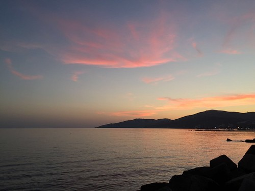 Tramonto di mare by meteomike