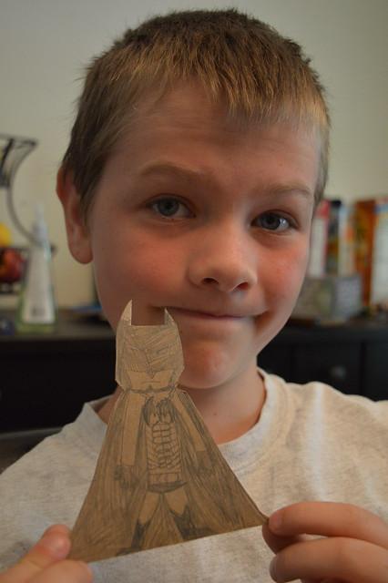 Cardboard Sculpture - Batman 1