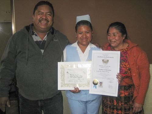 Guatemala sponsored student graduate