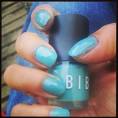 Rendu du #vernis #biba numéro 1: rendu jolie mais trop liquide et pinceau nul et séchage mi long