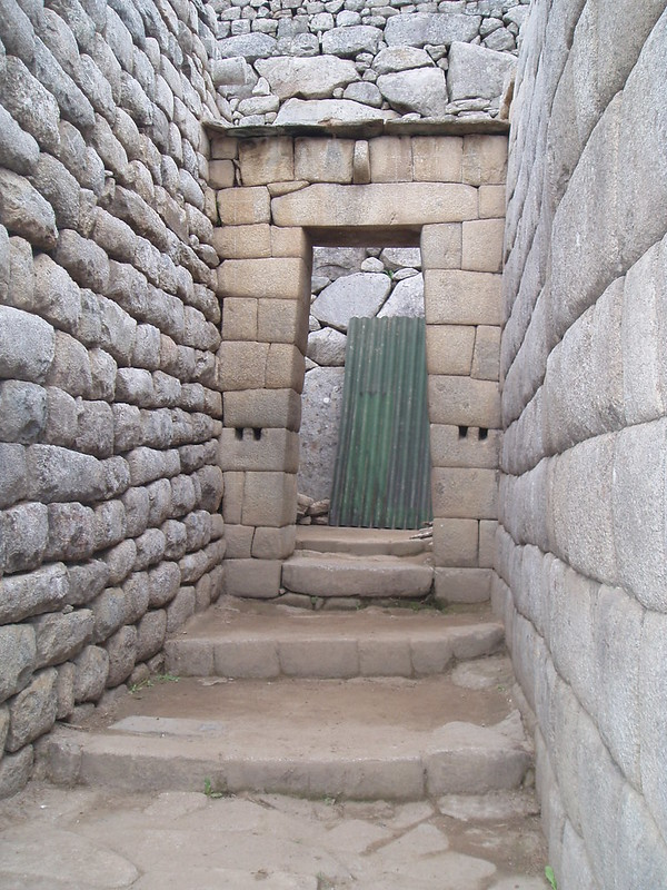 A door-way at Machu Picchu