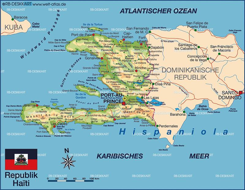 Maps Of Haiti Joao Leitao TRAVEL - Haiti maps