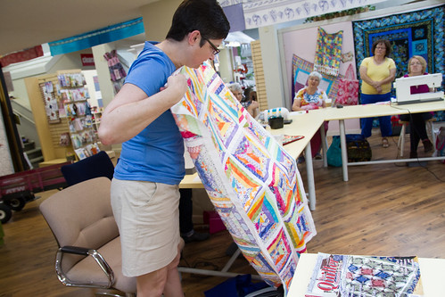 Tampa Modern Quilt Guild - May 2013 Meeting and Sew Day