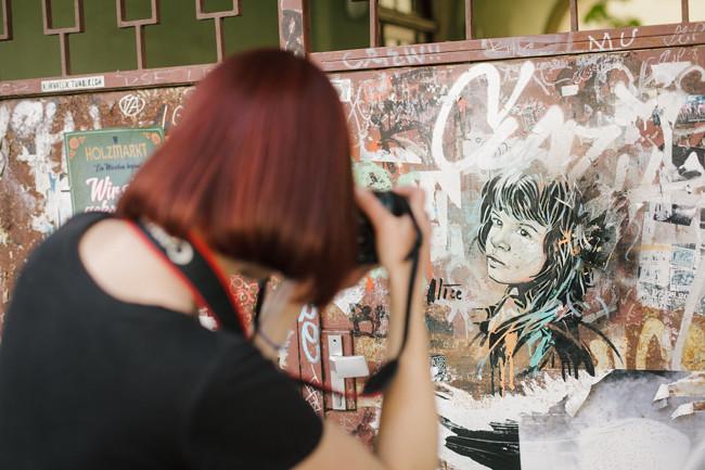 Berlin Portrait Luci Westphal street art