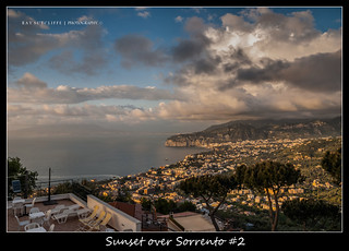 Sorrento town / Bay of Naples .May 2013.