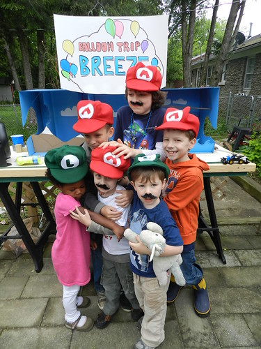 Henry's Nintendo Land 4th Birthday Party