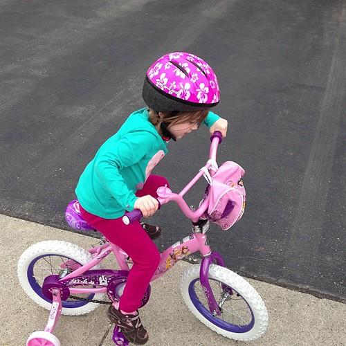 keekers riding bike