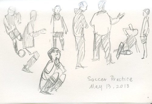 soccer practice by Bricoleur's Daughter