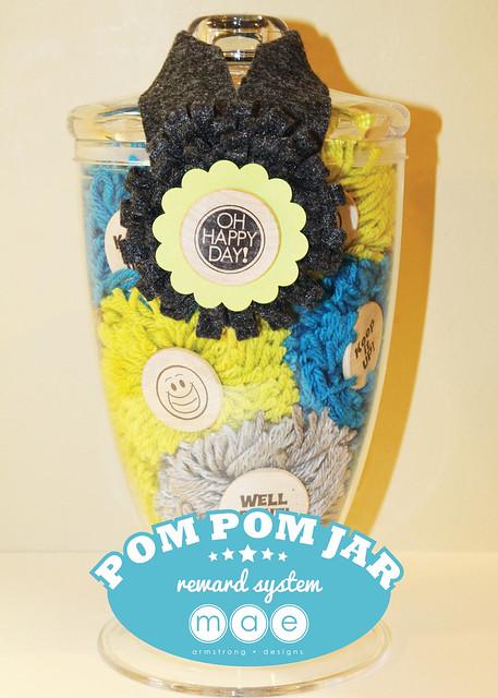 Pom Pom Jar Portrait