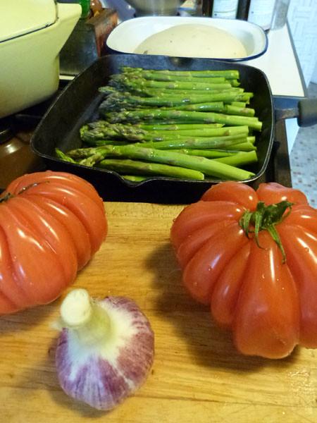 ail, tomates et asperges.jpg
