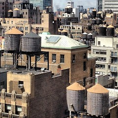 Water Yankee towers #nyc #icnewyorkcity