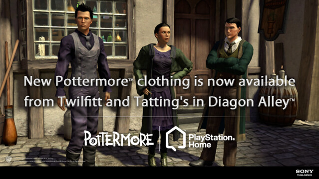 Home Billboard Pottermore in PS Home-Release 2