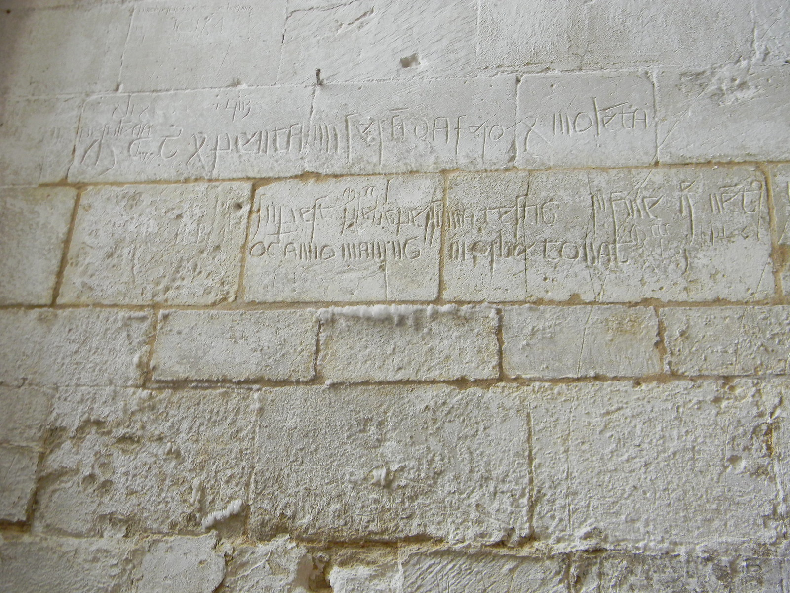 Ancient Graffiti Ashwell Church Refers to the Black Death In Latin Baldock Circular