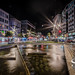 Te Aro Square at Night by timmelm
