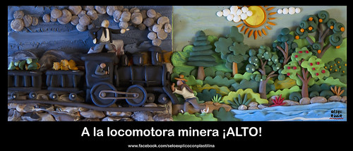 Alto a la locomotora by alter eddie