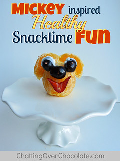 Mickey Mouse Inspired Healthy Snacktime Fun!