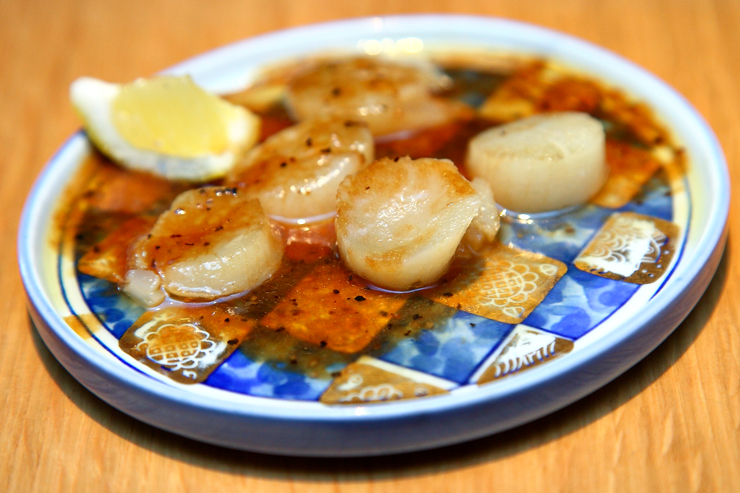 Teppanyaki-Scallops