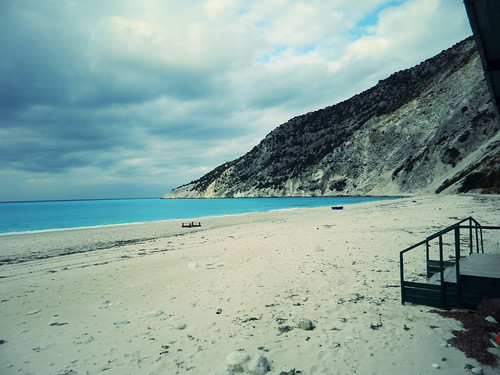 Winter in Myrtos Beach