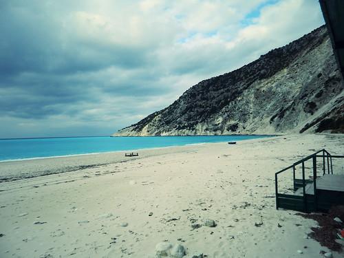 Winter in Myrtos Beach