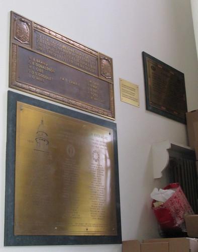 St Andrew's & St George's Church, WW2? Memorials