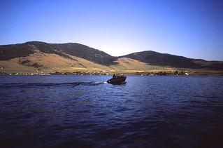 Montana   -   Flathead Lake   -   The Richards' Boat   -   July 1984