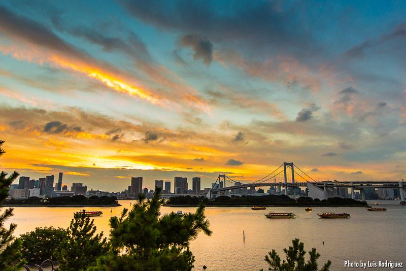 Bahía de Tokio desde Odaiba