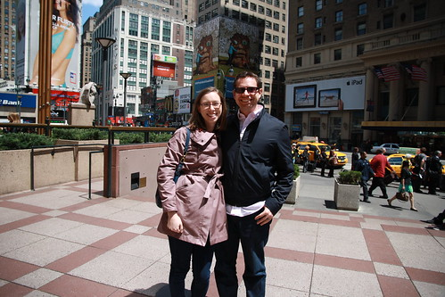 Sarah and Aaron- NYC 2013
