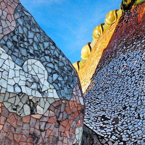 Roof of Casa Batlló