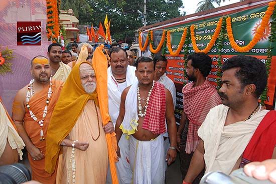 Adi Shankaracharya Jayanti at Puri