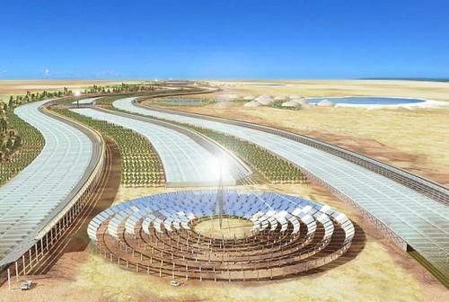 Проект тепловой солнечной электростанции мощностью 160 МВт