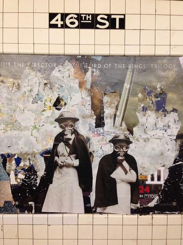 Portraits (46th St; Queens bound M/R)