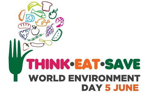2013世界環境日主題Think Eat Save。圖片來源:UNEP