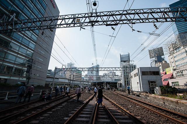 渋谷エキアト線路散策