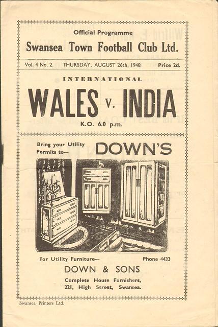 1948 Wales v India