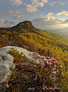Spring Morning at Table Rock Mountain