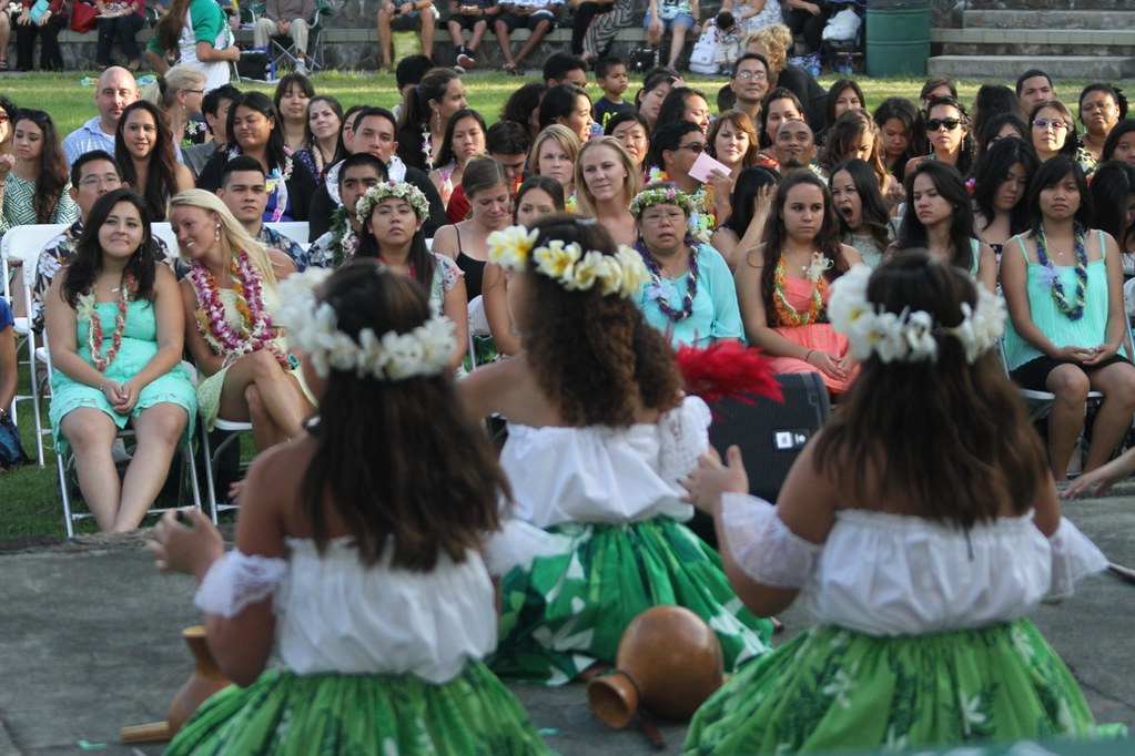 <p>Hula performance at the College of Education  Convocation. May 10, 2013</p>