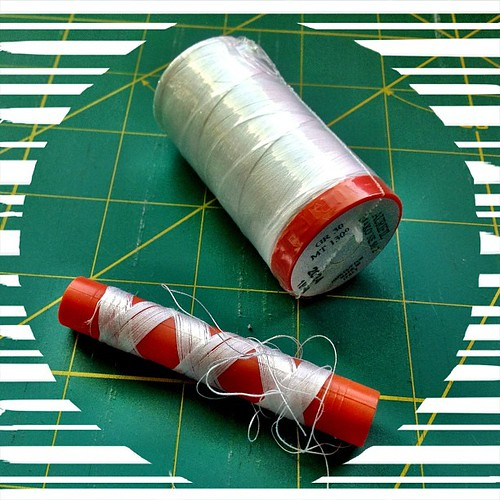 Time for a new spool of thread. #abeautifulmess