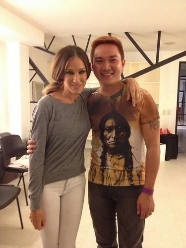 Sarah Jessica Parker in Manila