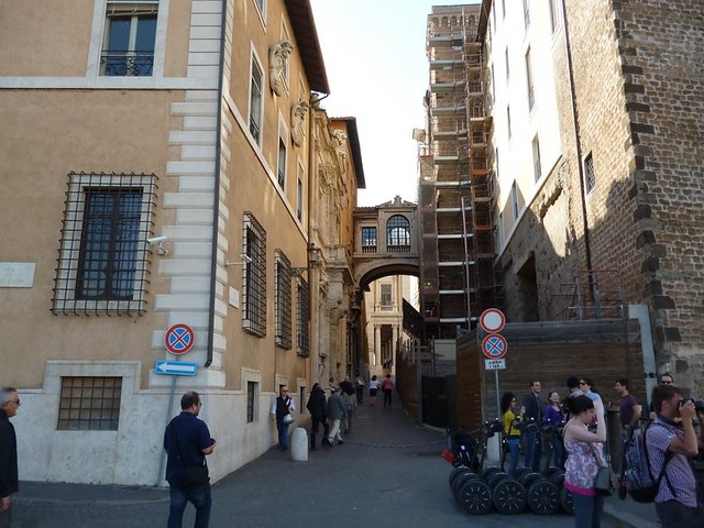 Road to Capitoline Hill