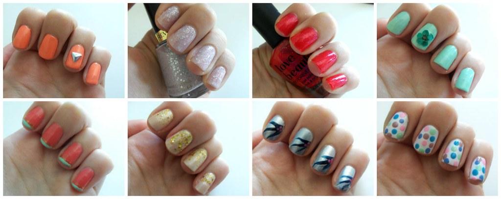 easy summer nail designs
