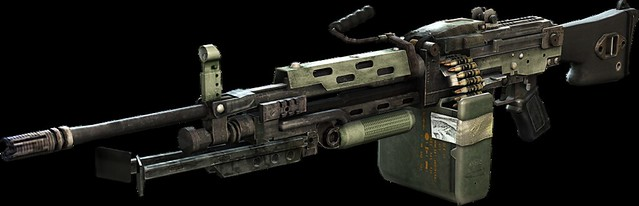 Killzone: Mercenary - M224-A1 Light Machine Gun