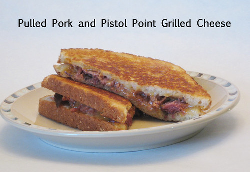 Pulled Pork and Pistol Point Grilled Cheese