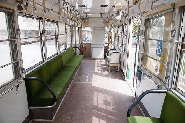 大田区立萩中公園保存車 都電荒川線7000形 7008号車
