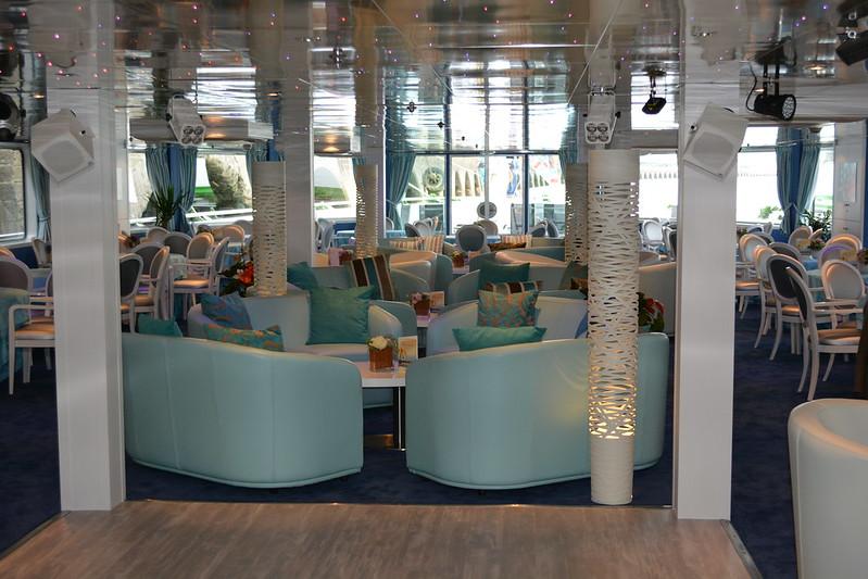Salon Bar - A bord du MS CYRANO DE BERGERAC - Croisieurope - Bordeaux - 16 mai 2013