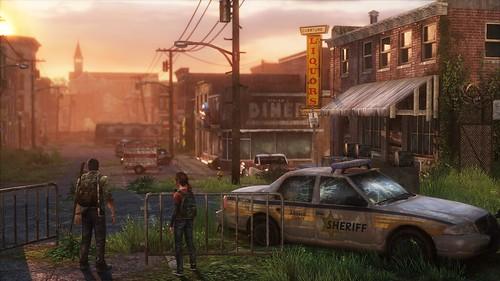 bills town sunset