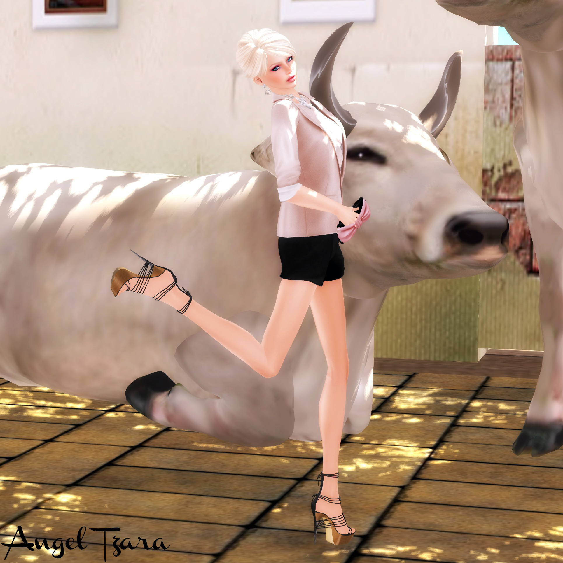 Dancing with Cows (f)