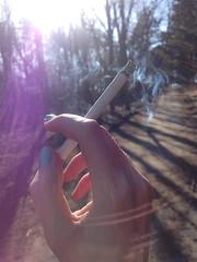 Light a cigarrette