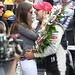Tony Kanaan and his wife