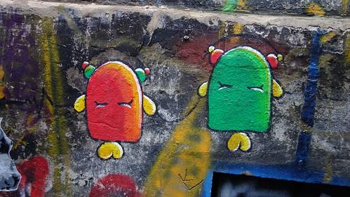Graffitis en Hackesche Höfe