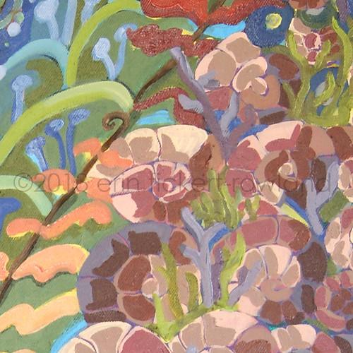 """""""Prehistoric Aquarium""""  Detail 2"""